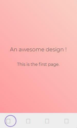 手机网页设计与制作CSS3设计制作带渐变效果的移动端APP鼠标点击按钮切换动画效果