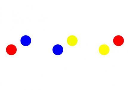 HTML网站加载图标素材大全CSS3制作裂变组合的圆形色彩loading加载图标