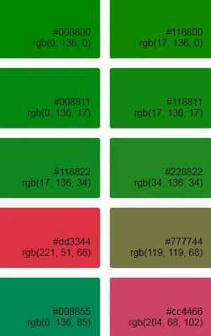 HTML5和CSS3布局排版制作调色板色值列表网站调色板素材下载网站