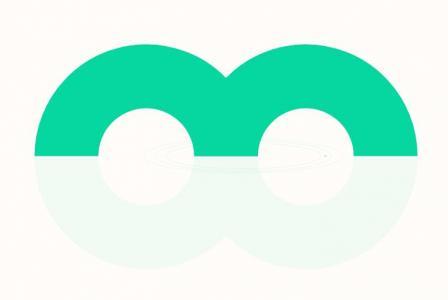 JavaScript与CSS3绘制带阴影效果的渐变色彩M字母滑动动画效果