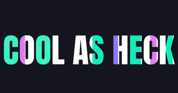 js网页背景特效大全与CSS3绘制字母文字背景色彩动画切换效果