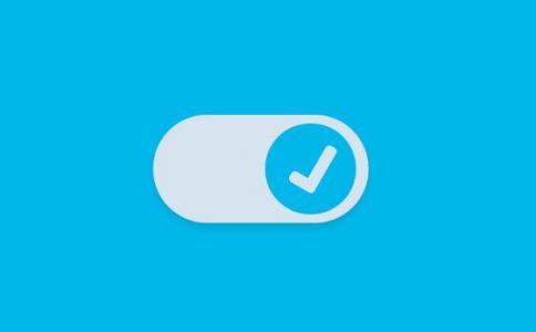 纯CSS3制作清晰简单的checkbox滑块开关按钮鼠标点击按钮开关状态跳动勾选动画效果