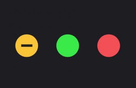 网页icon图标素材设计大全纯CSS3制作色彩圆圈鼠标滑过显示SVG图标动画效果