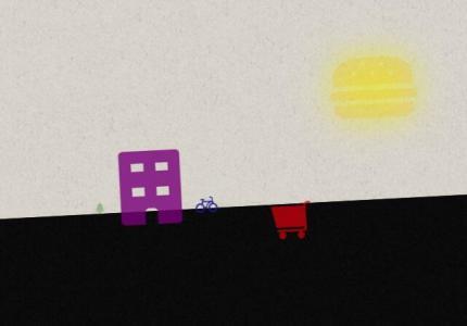 HTML5和CSS3绘制日常生活中场景动画效果CSS3网页卡通动画素材设计大全