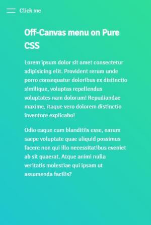 HTML5代码和CSS3设计制作简单网页侧边栏网页模板静态网页网站侧边栏滑动切换效果