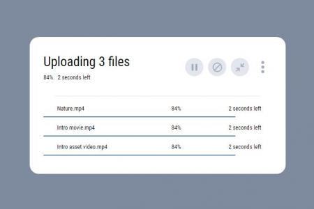 js代码和CSS样式制作带控件的百分比进度条HTML网页进度条设计网站