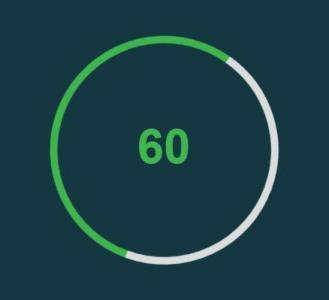 jquery特效代码和CSS3制作带百分比的圆形进度条加载动画效果