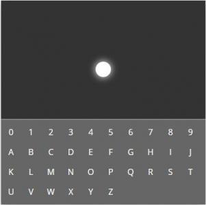 CSS特效代码实现鼠标点击数字在白点粒子在黑屏上闪烁动画效果