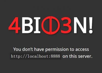 HTML网站错误信息403静态页面设计代码CSS网页模板素材下载