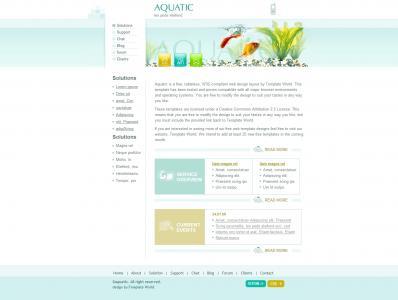 HTML网页代码静态页面布局个性简洁小清晰个人博客网站模板