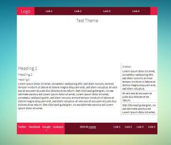 HTML5个人博客模板设计大全网站静态页面素材制作网站