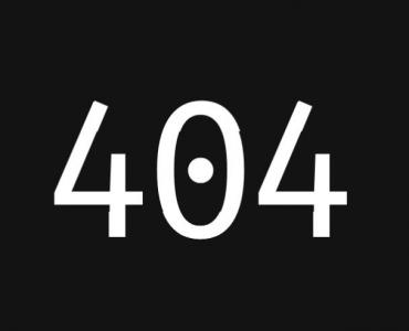 HTML5网页404页面设计纯CSS3制作简单404文字动画效果