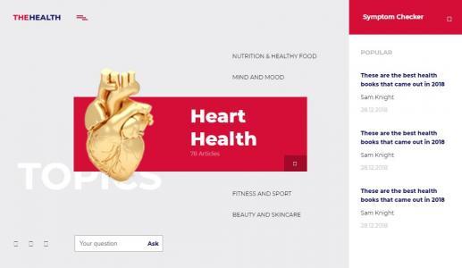 HTML标签代码和CSS3设计制作红色风格公司网站模板静态页面