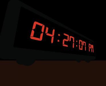 js时间代码和CSS制作LED数字时钟样式效果HTML网站时钟大全