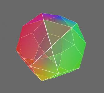 CSS样式表设计制作炫酷网页3D几何图形球体旋转动画效果