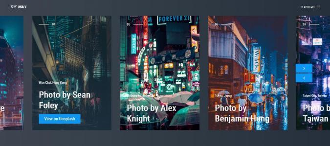 HTML5与CSS网页图片滑动代码制作大气全屏图片滑动效果鼠标点击切换代码