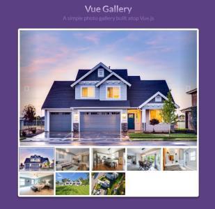 vue.js代码与HTML5制作图片焦点图幻灯片鼠标点击图片切换效果
