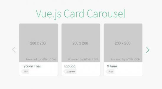vue.js代码与CSS3网页图片特效代码制作简单的滑块幻灯片样式效果