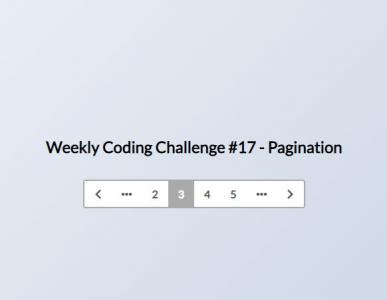 纯CSS3设计制作简单的网页内容列表分页样式代码